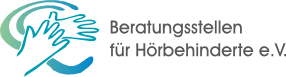 Beratungsstellen für Hörbehinderte e.V. Logo